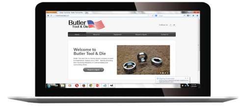 RBA Web Design, Butler Tool And Die