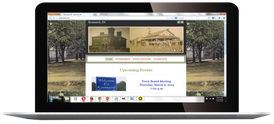 RBA Web Design, Site build for the Town of Kennard, IN